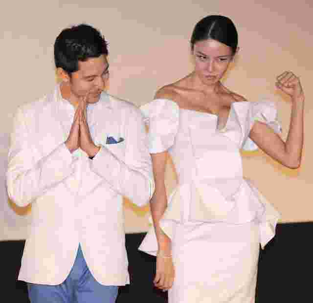 成龙女徒弟张蓝心是跆拳道冠军, 本靠拳脚吃饭,如今却靠胸