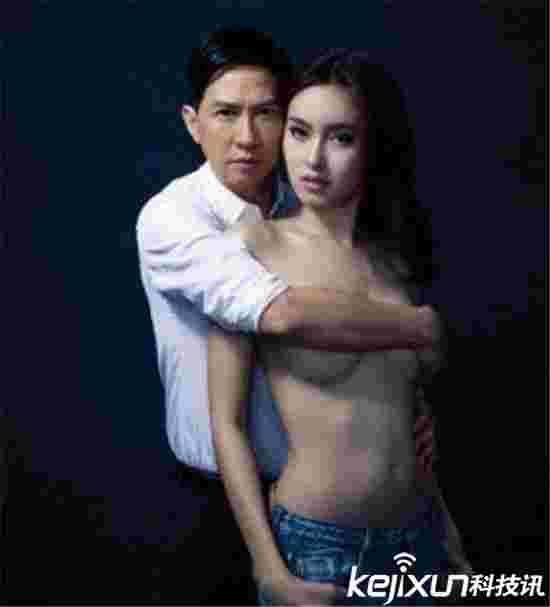 泰国最美变性人poy大尺度半裸照  张家辉手扶酥胸场面火辣