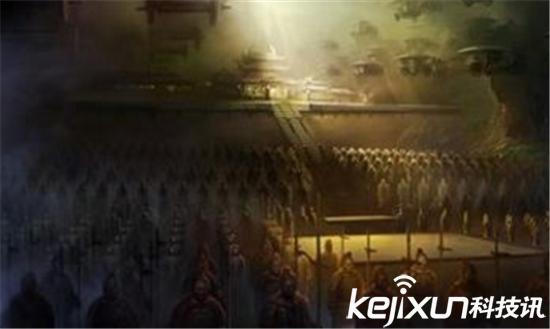秦始皇陵藏绝世美女 竟千年未死