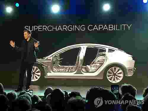 特斯拉Model 3明年在韩上市 刺激韩国电动车需求