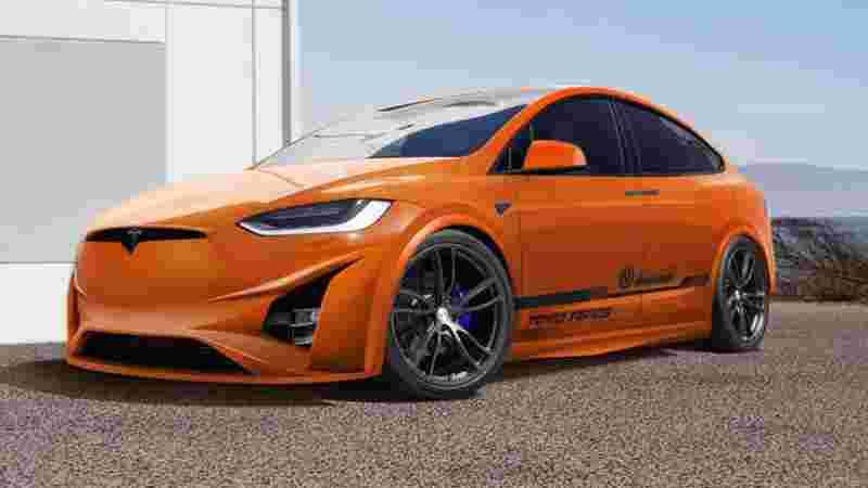 特斯拉Model X改装车将亮相SEMA车展