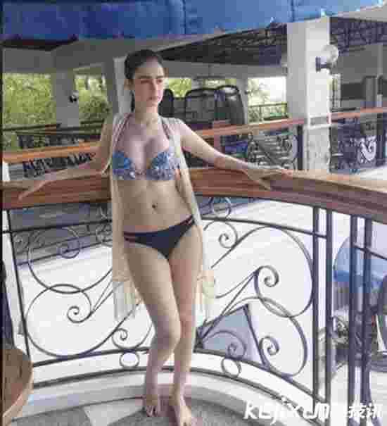 菲律宾混血女模胸大人美 800万粉丝点赞