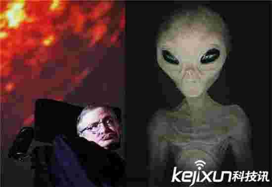 霍金曾亲眼目睹外星人入侵地球是真的霍金真面目