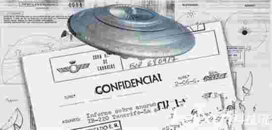 西班牙政府公开外星人飞碟机密档案 是真的