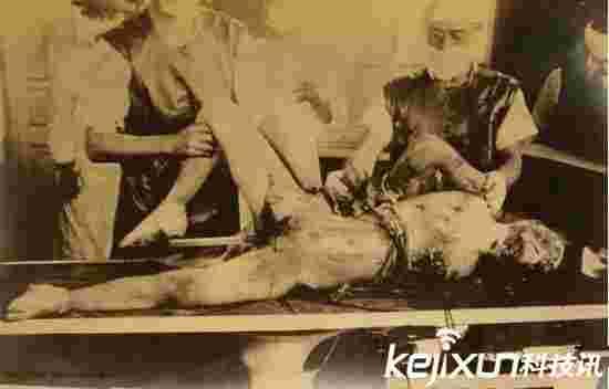 日军731部队性试验方法活体解剖竟拿女人做实验