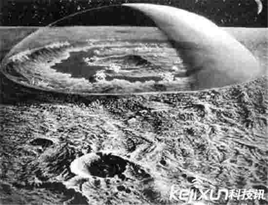 美国隐藏40年登月真相竟是个骗局 外星人阻止公开?