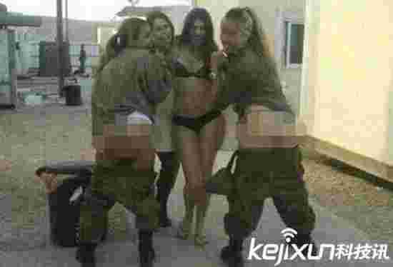 曝美国女兵裸照丑闻 部分裸照系偷拍被上传分享