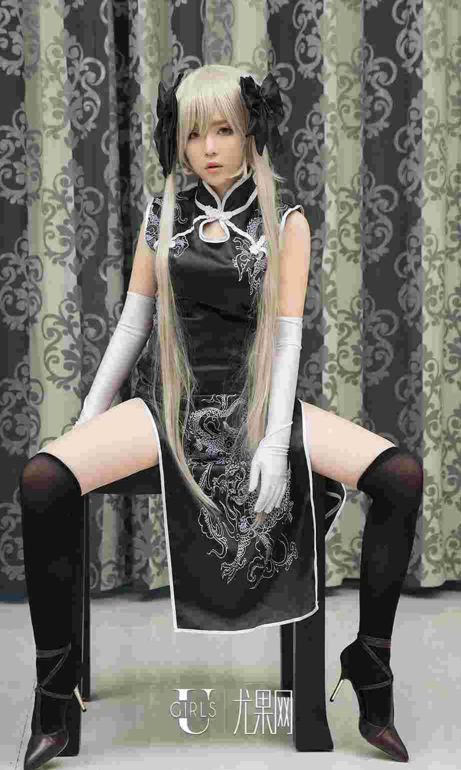 尤果网coser美女素衣cos动漫人物写真图片
