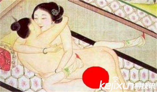 古代春宫图大尺度姿势 古代妃子吻皇帝龙根画太羞人