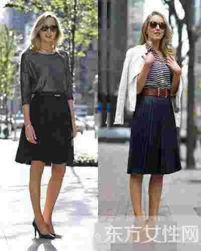 夏季半身长裙怎么搭配好看 时尚变修长瞬间女神范