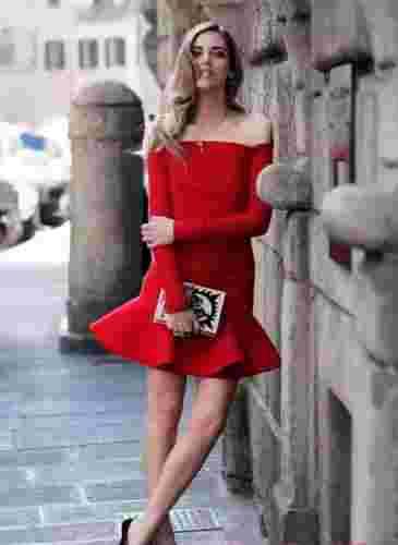 知彩丨热情的红色时尚穿搭 精致耀眼显气色!