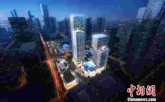 深圳联想后海项目效果图。资料图