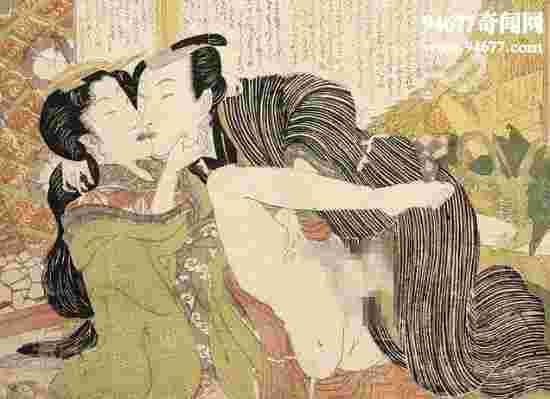 古代日本春宫图大全,最爱人兽群P的变态性文化(图片)