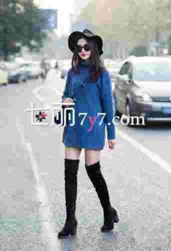 中国美女时尚街拍瞬间 早春流行搭配抢先看