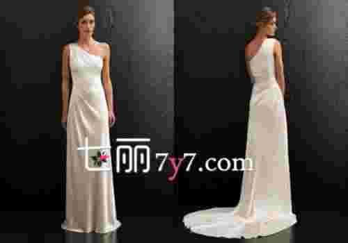 春夏唯美诱惑婚纱礼服 勾勒曲线成就摩登新娘