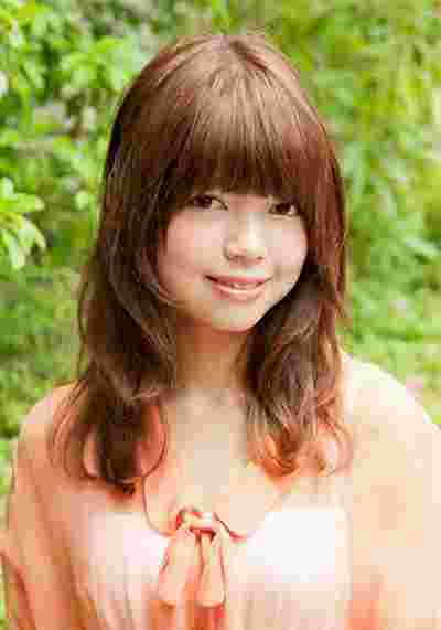 推荐娃娃圆脸适合的发型图片 蓬松感日系瘦脸发型图片