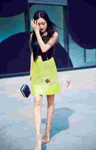 中国女明星最新街拍 秦岚领衔时尚造型