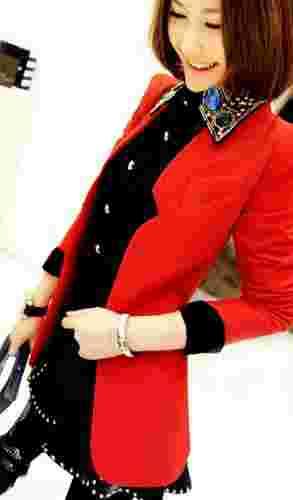 显瘦小西装外套搭配 小资女推荐人气最高女装