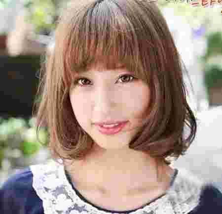 大脸圆脸适合的发型推荐 中长发烫发发型最显瘦