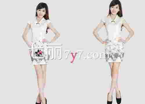 东方时尚瘦腰旗袍裙 做知书达理的女子