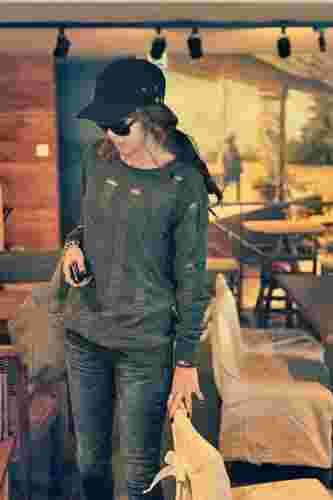 2011冬季服装搭配的技巧 都市轻熟摩登混搭
