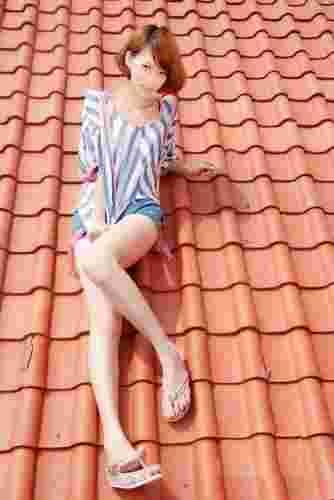 夏季日韩淑女减龄装扮 打造玲珑小骨架美女