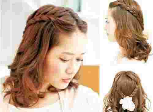 韩式刘海发型怎么扎好看 露出额头也能很优雅