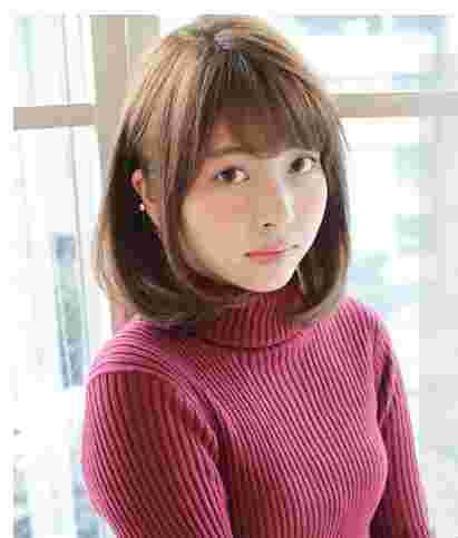 方脸适合什么发型 齐肩发型修颜更减龄图片