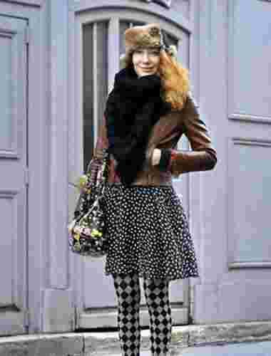 冬装大衣VS皮衣搭配 那个更能吸引你的眼球呢?