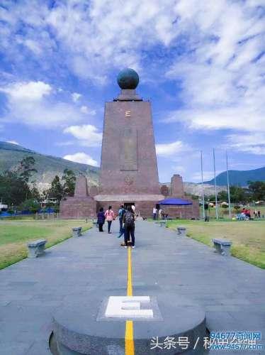 唯一以赤道命名的国家,这里是地球的中心,建世界最大赤道纪念碑