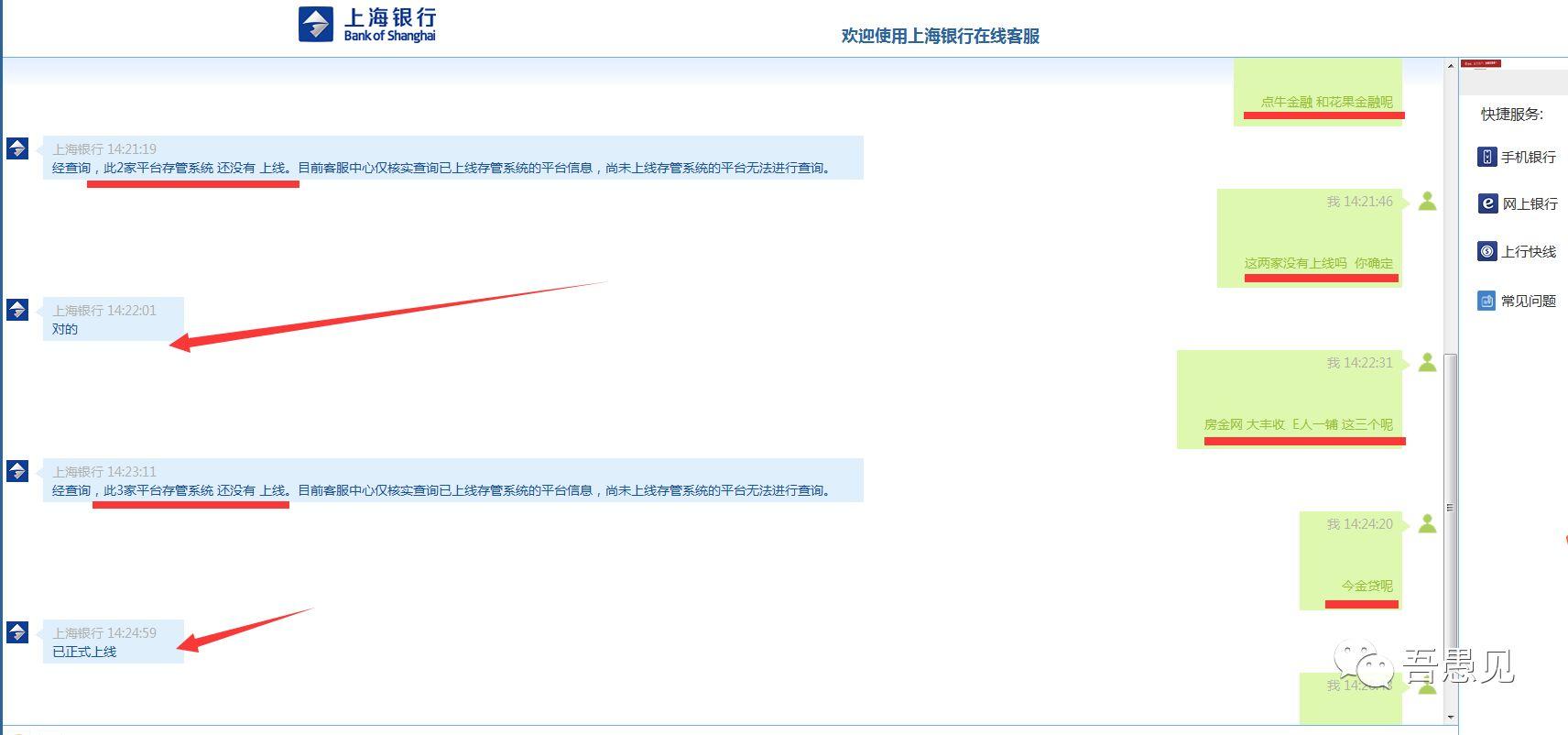谁说谎上海银行否认花果金融、点牛金融有存管而平台方称冤枉