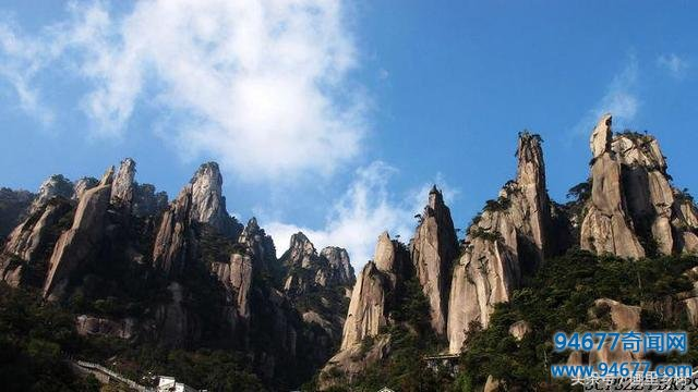 三清山简直是大自然的鬼斧神工之作