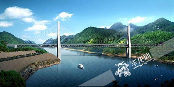 坐着火车上下班 重庆铁路枢纽东环线预计2021年底建成