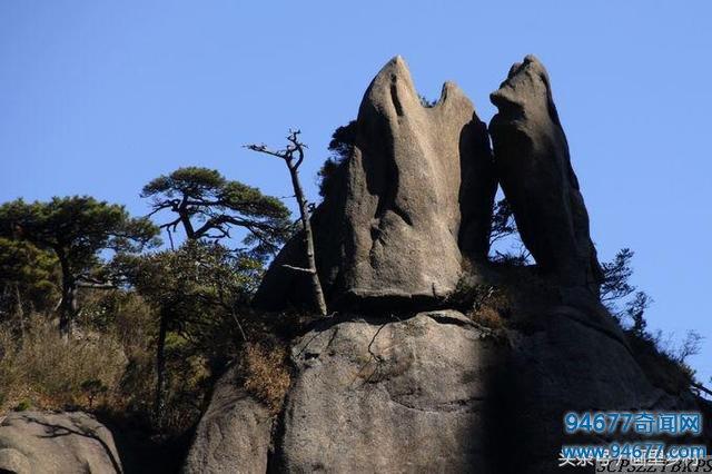 三清山简直是大自然得意之作