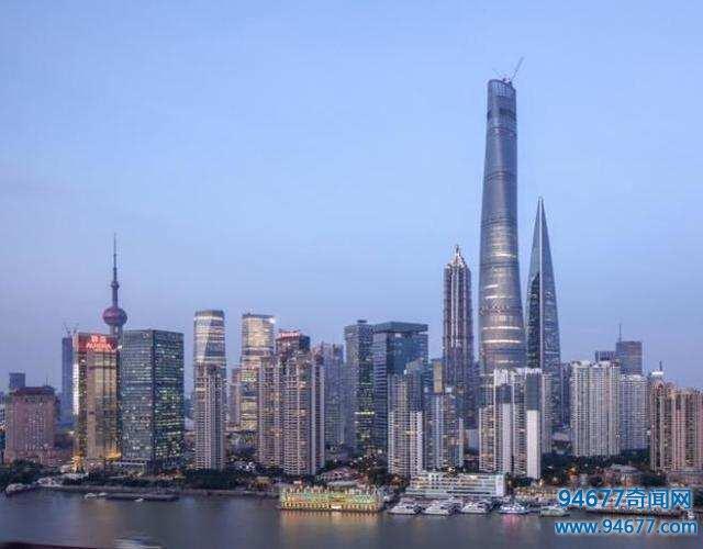 """直击中国第一高楼上海中心的""""世界之最"""" 你都知道吗?"""