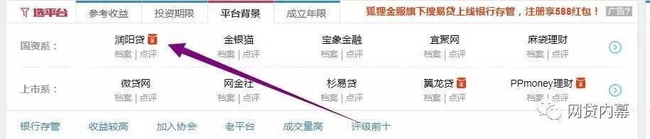 润阳贷盗用网络图片发布假标 抄袭e路同心平台!
