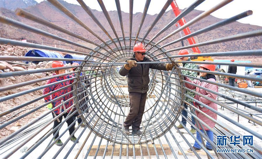 西藏昌都首条高等级公路开工