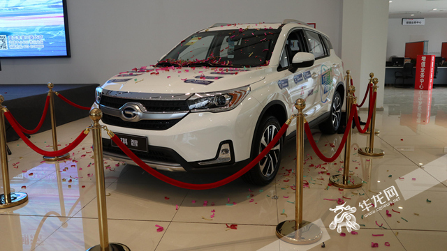 首款合资新能源SUV祺智重庆上市补贴后17.38万起售