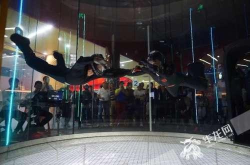 全国室内跳伞(风洞)大赛将在渝举行 150余高手将上演竞技飞行