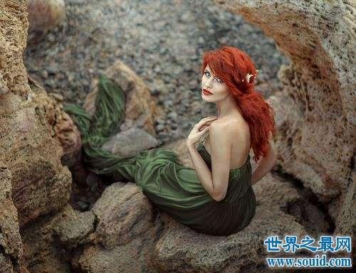 美人鱼,梦见美人鱼,不要贪恋我的美色,在我身下是海