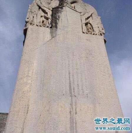 墓碑你见过么历史上有名的无字碑你知道是谁的么
