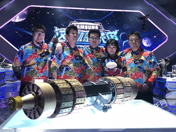 """这支重庆队伍用根棒子参加机器人大战其实他们的""""野心""""不止于此"""