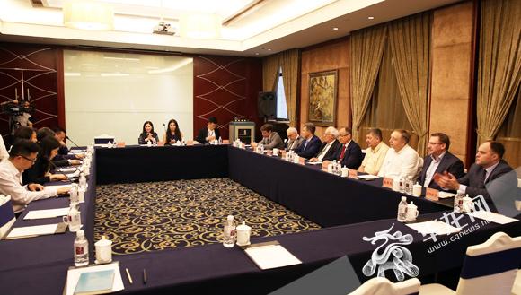 俄罗斯院士专家组团来渝考察 多领域拓展对接合作