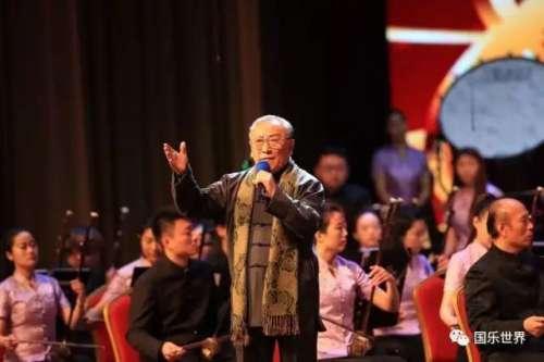 著名影视话剧表演艺术家薛中锐先生朗诵《孔子》在2017山东新春音乐会