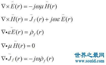 麦克斯韦方程组带你去认识这么一个方程组让你有不一样的认识