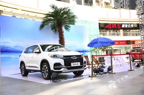 """奇瑞迎3.0时代 5+2座SUV""""智慧""""瑞虎8重庆上市"""