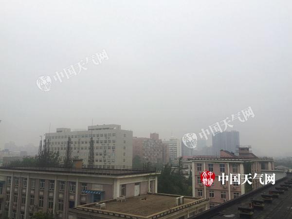 北京今明天仍多雷雨 或伴有短时强降雨及大风