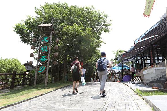 【美丽中国长江行】原生态村居风貌结合现代元素 打造美丽生态黄龙岘