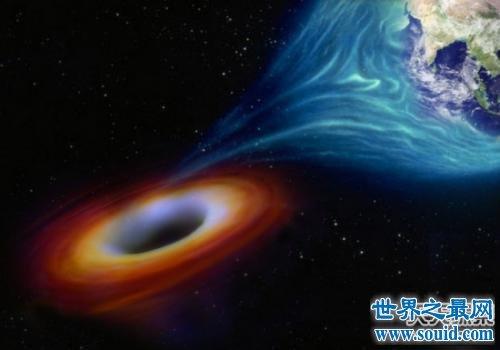 来自宇宙的危险犯流氓黑洞,正在吞噬它周围的一切!(www.souid.com)