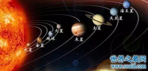 八大行星排列顺序 木星两种顺序都名列前茅(www.souid.com)